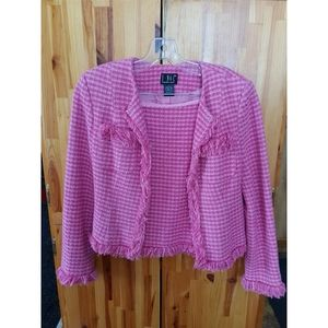 Vintage INC Woven Blazer and Mini Skirt Size 4